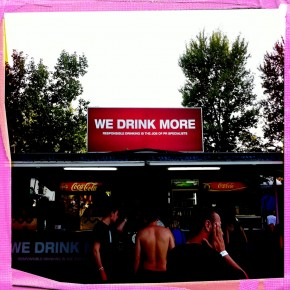 WE DRINK MORE