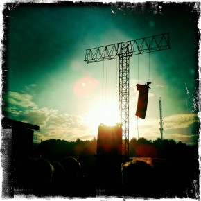 Main Stage at Sunset
