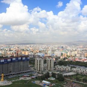 Ulaanbaator von oben