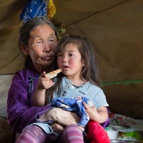Im Mongolen-Tippi