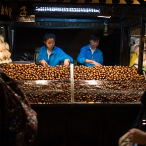 Chestnut vendors