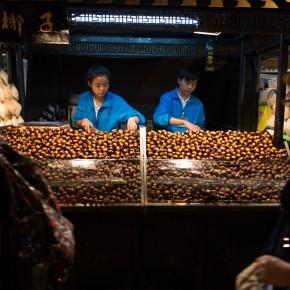 Chestnut vendors