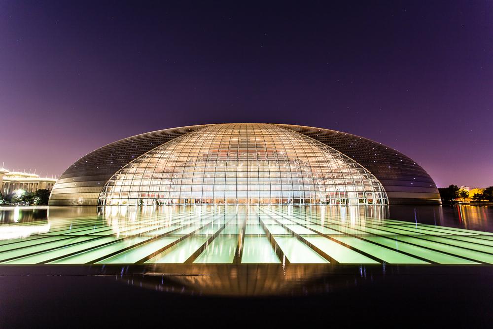 Im Blindflug durch Peking