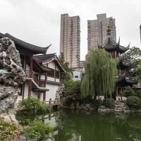 The temple of Confucius pond
