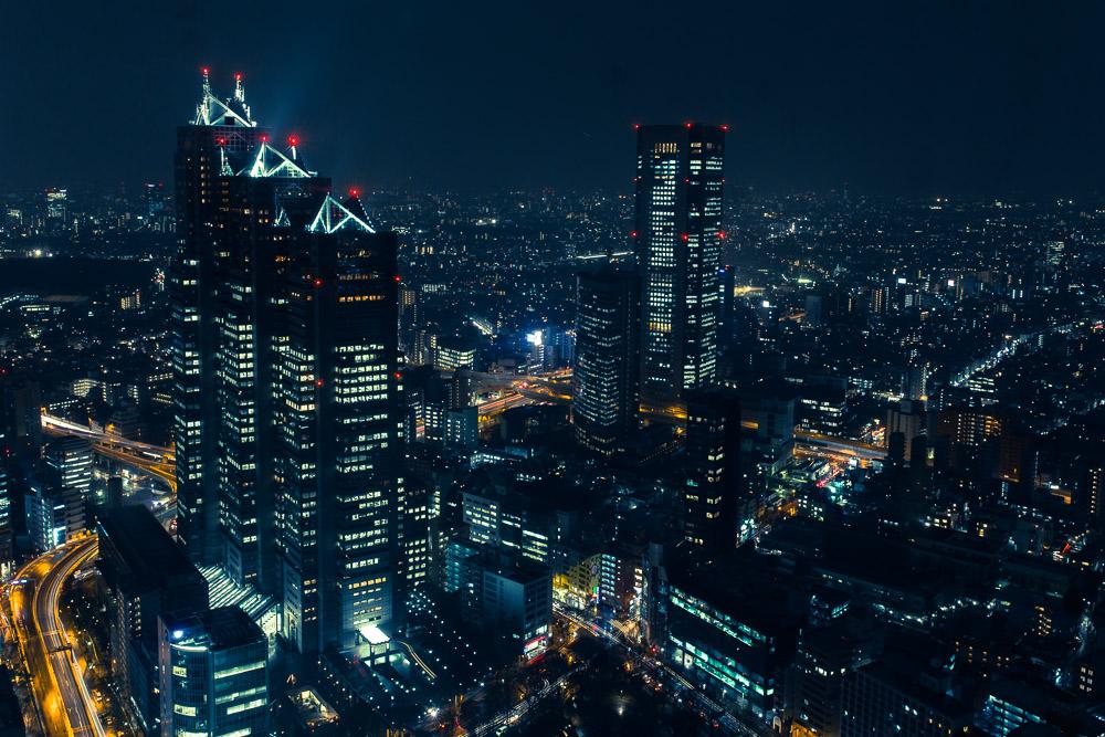 Tokyo – Wolkig mit leichten Schauern