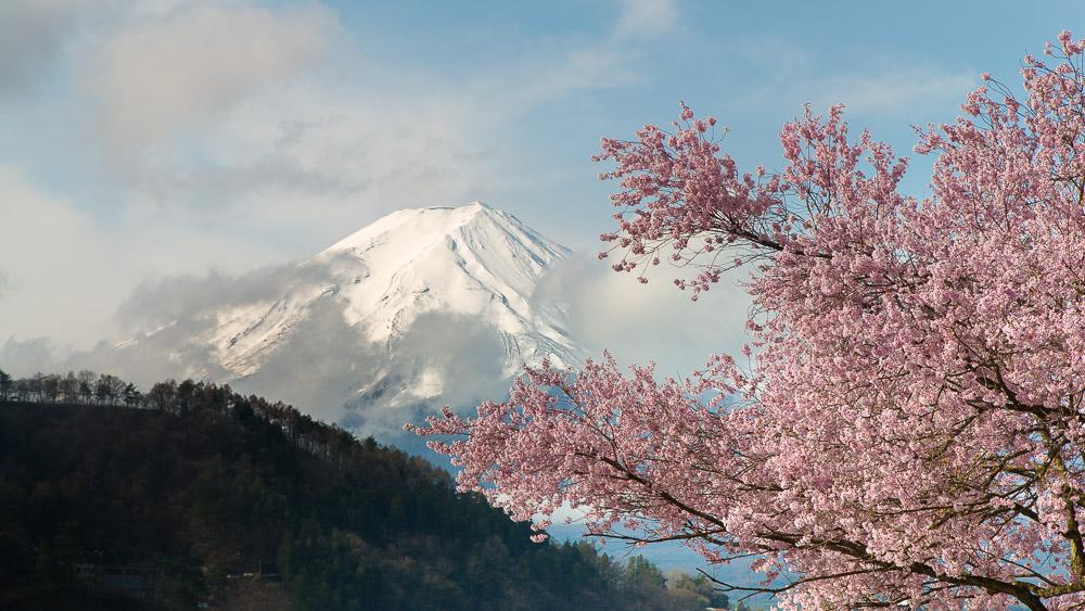 Fuji – wolkig