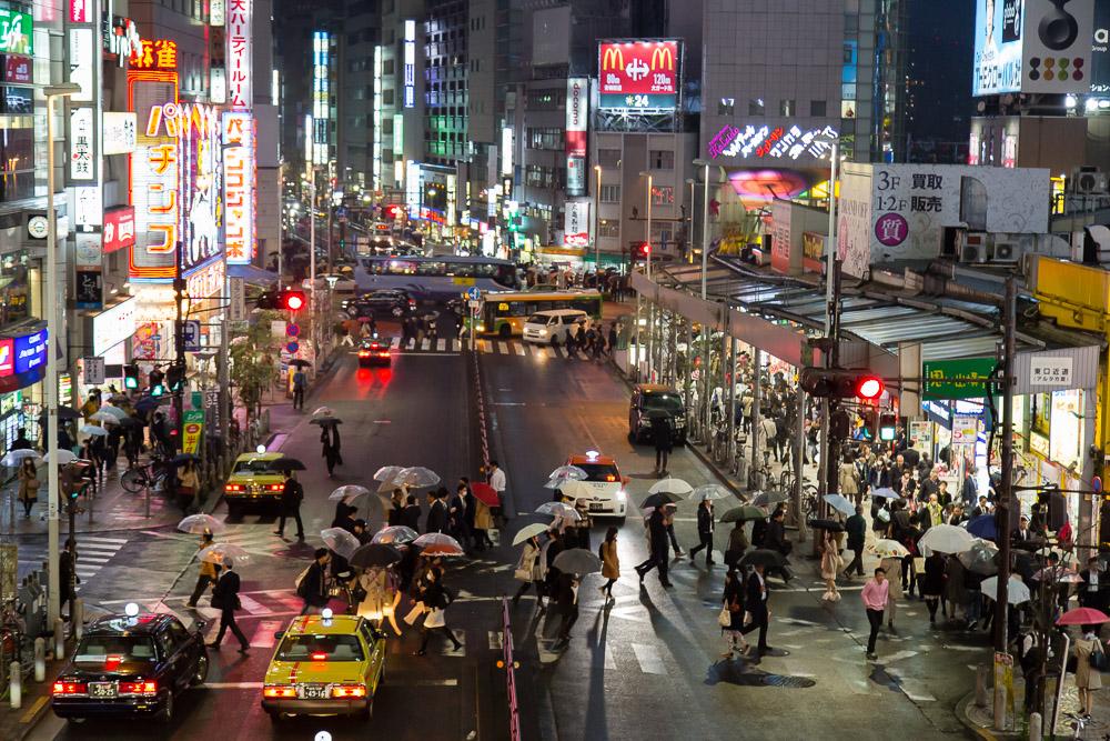Tokyo – Regen